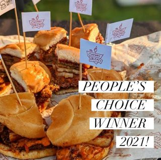 We WON!!!!!! 💥🏆🍔 The people have spoken and given us the People's Choice Award for BEST BURGER! Thanks to all who came out last night and helped eat their way to 720 Jammin' Poblano's victory. Special thanks to @ocn_eats + @denverburgerbattle + @denverwestword for helping capture a piece of the burger battle action. Today we celebrate! #burgerbattle #denverburgerbattle #peopleschoicesward2021 #bestburger #bestburgerever #denverburgers #porkbellyburger #poblanoburger #303 #burgerlovers